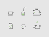 Simple Icons for Instructions