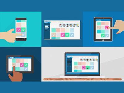Application split screen