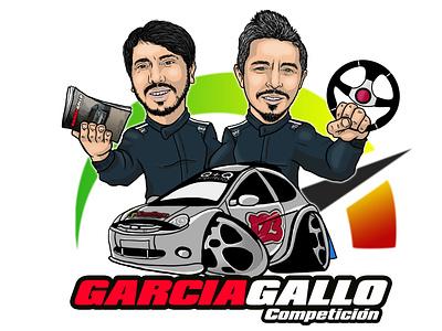 Caricatura Rally photoshop drawing car rally sports caricature caricatura dibujodigital dibujo illustration cartoon