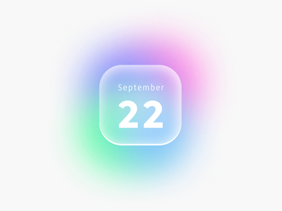 Experiment with color design logo ui app uxdesign ui design uidesigns minimal