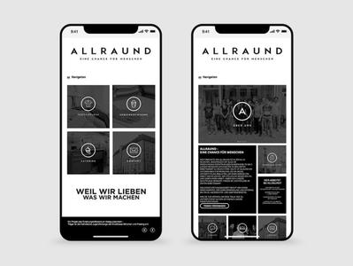 Huefner Design | allrAUnd gGmbH