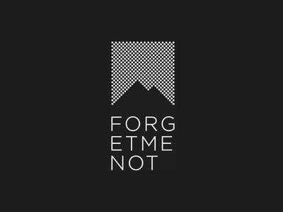 Huefner Design | Logo ForgetMeNot