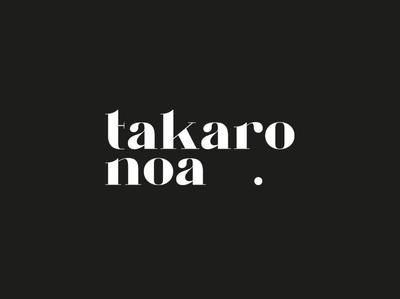 Huefner Design | Logo takaro noa.