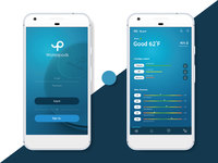 Waterpods UI design