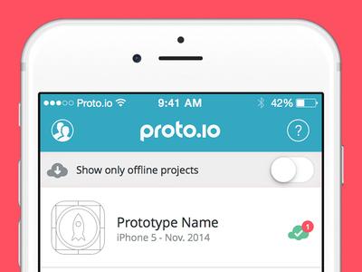 Proto.io App