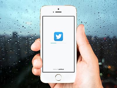 Redesigned Loader mobile app offline prototype loading