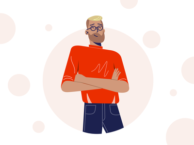 team member texture person character vector team design graphic illustration