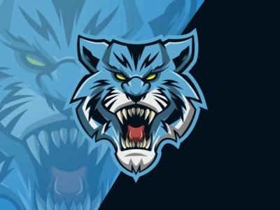 tiger head esport logo