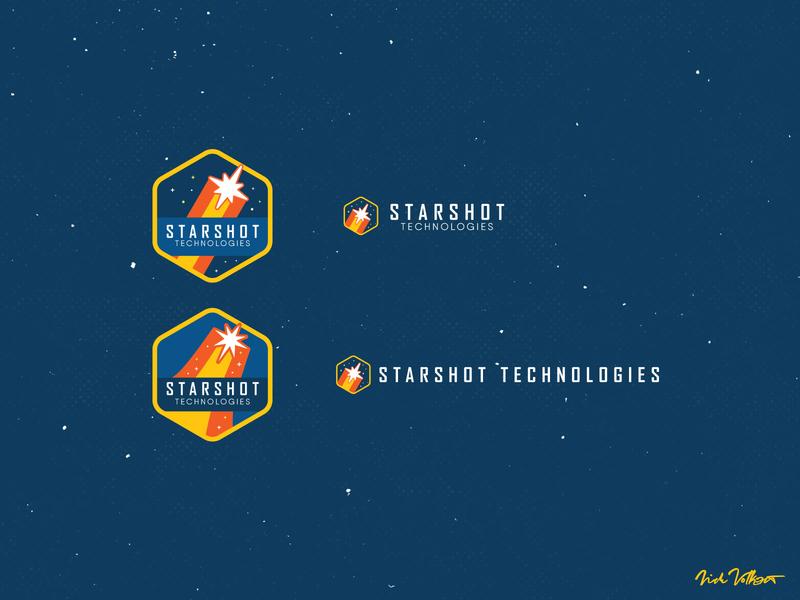 Starshot Logos branding design badge outerspace star design logo design branding logo