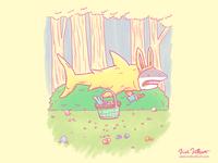 The Easter Bunny Shark