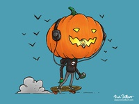 The Skater Pumpkin
