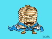 Captain Pancake's Mustache