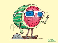 Dribbble Watermelon