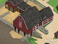 Historic Wagner Farm Illustrated Map