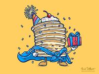 Captain Birthday Pancake
