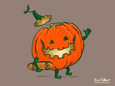 Skatedeck Pumpkin