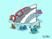 Beach Party Shark