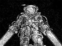 Texas Chainsaw Astronaut: New Moon