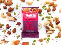 NuttZo Bold BiteZ Snack Bar Design