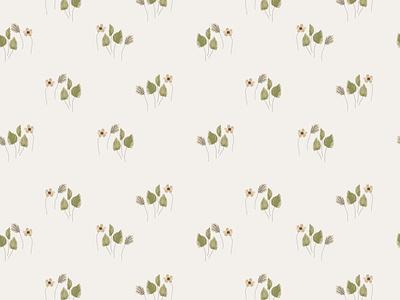 Boho florals seamless pattern dried palm daisy print bohemian tropical illustration design cute cartoon artistic drawing small little boho flowers packaging seamless floral pattern