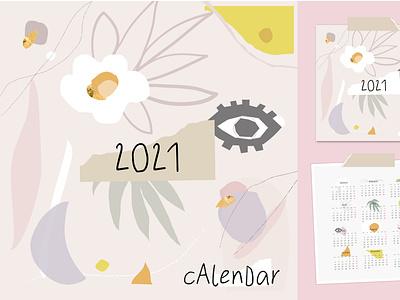 CALENDAR calendar header collage caricature floral pattern boho bohemian textures background illustration modern abstract artsy cute cartoon artistic