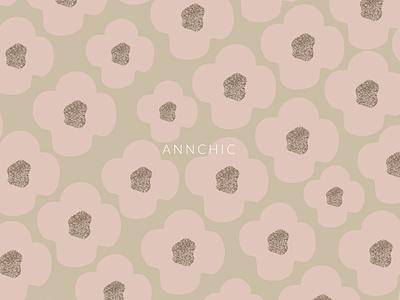 Romantic Daisy chic seamless pattern digital paper print bohemian digital art shape art artsy doodle gold foil blush pink floral background design chic graphic design seamless pattern pattern flower