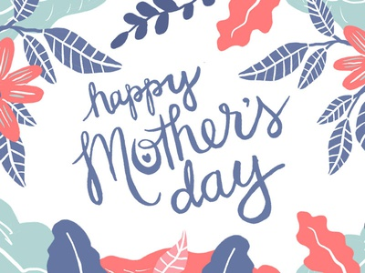 Happy Mothers Day Illustration design mothersday illustration