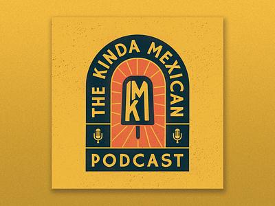 Puebla paleta mexican podcast art cover art podcast branding design illustrator flat illustration graphic design branding design