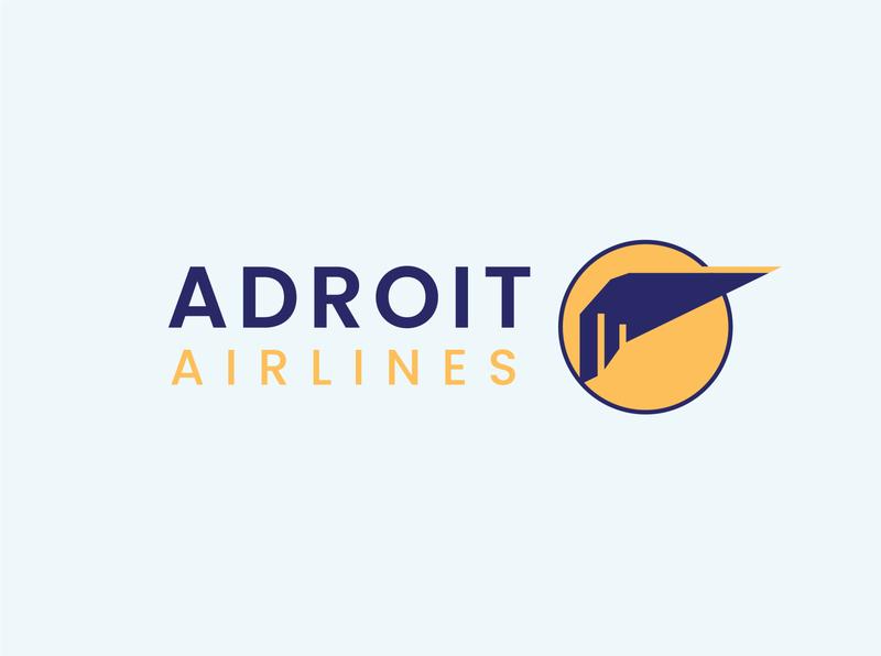 Logo Design | Adroit Airlines