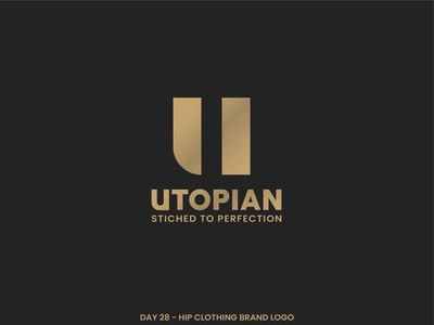 Logo Design | Utopian modern design fashion design utopianfashion minimalist logo minimalistic minimal modern logo modern fashion brand fashion art daily trend logo illustration dailylogochallenge adobe illustrator designs adobe design