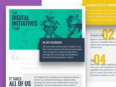 Email Marketing - Innovation Team design innovation team geometric clean email marketing marketing email