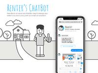 Large renters chatbot