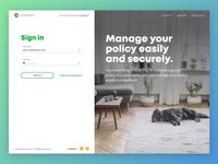 Login Screen figma webdesign web clean ui ux register sign in login page login