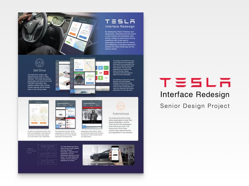 Tesla Interface Redesign - Senior Project matt zelazo app interface ui sketch3 cards tesla