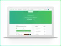 Acorns Web App 2.0 - Present