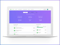 Acorns Web App 2.0 - Past