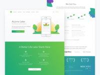 Acorns Later - Marketing Site