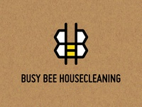 Busy Bee Housecleaning Logo