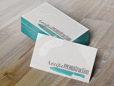 Recipe Recon Business Card