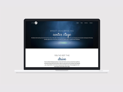 In The Lights development ux ui css wordpress webdesign design branding