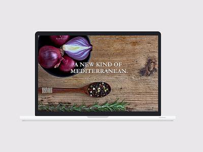 NOVO restaurant design marketing branding website