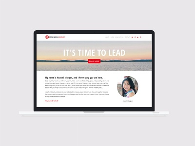 Nozomi Morgan coaching executive website restaurant marketing design branding