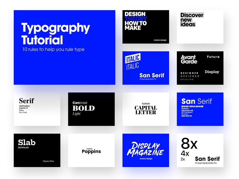 Typographic experiment layout font typogaphy typeface design