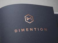 Dimention Logo Design
