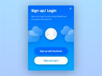 LOCO login page