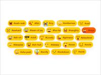 Emoji Hashtag