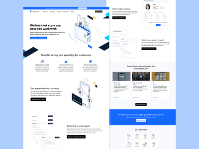 Software Solutions Page web isometric illustration graphic design design ui ux
