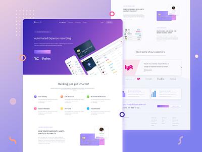 Spendo Mobile App, Web App & Landing Page app ux ui design