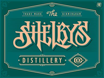 SHELBY'S brand sign logo logotype lettering design typeface font design type design type font typography