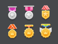 Medal Icons 02